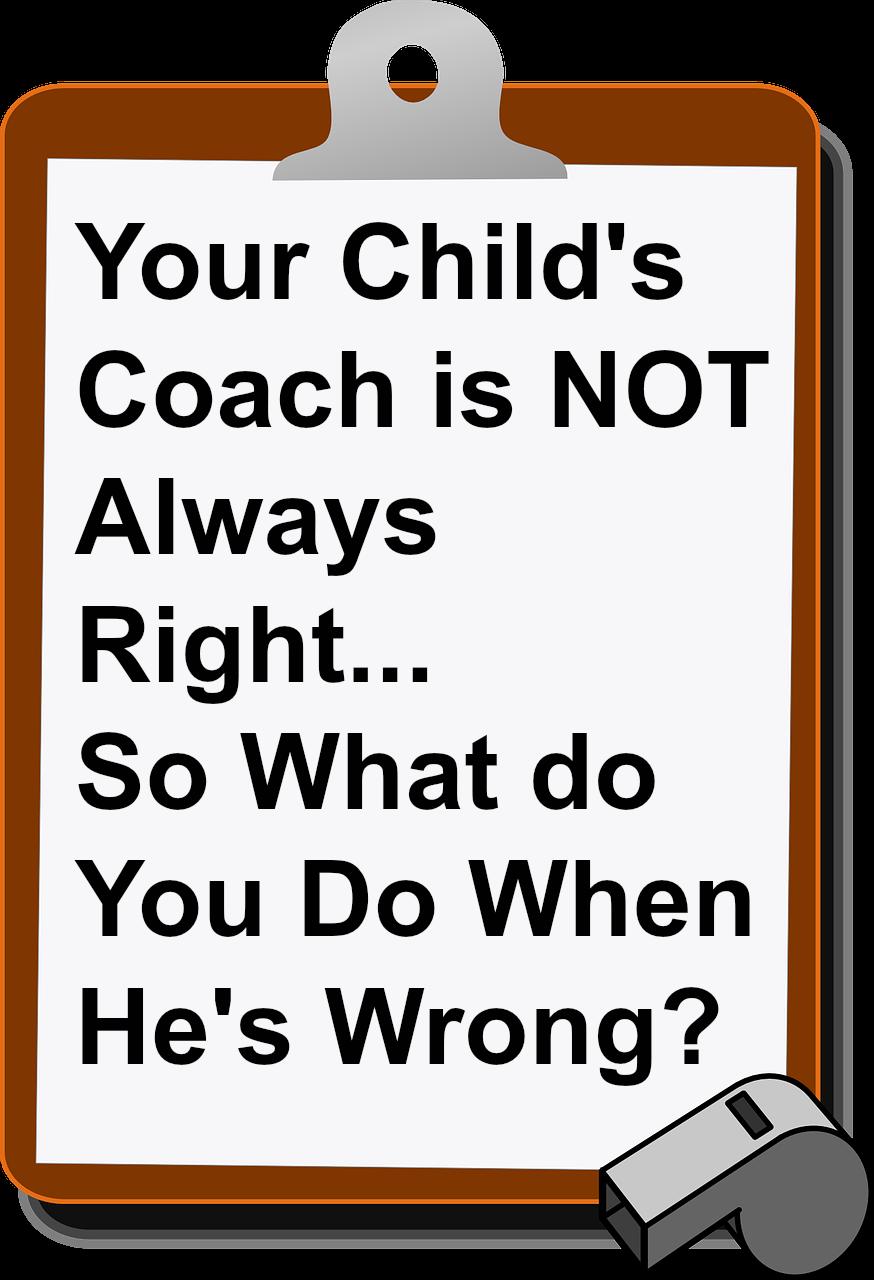 child's coach