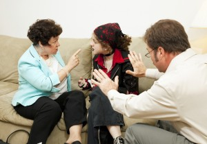 Family Counseling - Blame Daughter