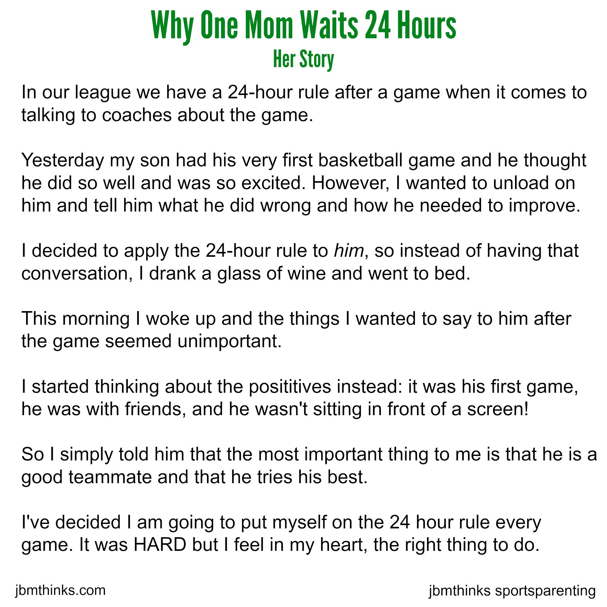 24 hour rule