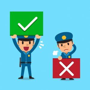 good cop/bad cop parenting